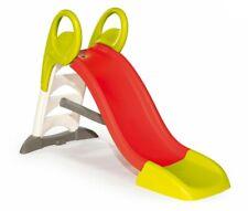 Smoby KS Slide Scivolo per Bambini Rosso Verde 150 cm Giostre Giardino Sicuro