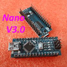 Praktisch Modul Mini USB Nano V3.0 ATmega328P Micro-Regler Board für Arduino TOP