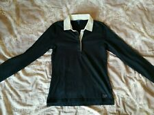 Gant Poloshirt  gr. S Langarm Marineblau/Schwarz 100% Baumwolle TOP!!