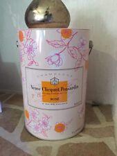 🍾 Seau à Champagne Rosé VEUVE CLICQUOT PONSARDIN, EDITION LIMITÉE