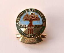 Autumn Tints Cycling club Comrades pin badge Cycling collectable Sylvia
