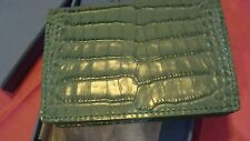 SMYTHSON of BOND STREET, LONDON.LEATHER COIN / CARD CASE PURSE, NEW with box.