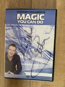 STEPHEN MULHERN PRESENTS MAGIC YOU CAN DO AUTOGRAPHED DVD NOT AVAIL IN SHOPS