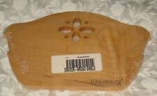 Longaberger Classic Stained Wood Crafts Bread / Bakery Basket Divider Usa New