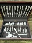 Rose Point by Wallace Sterling Silver Flatware 81 Pieces