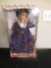 Collectors Choice Fine Bisque Porcelain Doll 20 Inch Limited Edition READ!!!