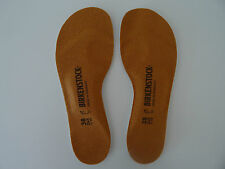 BIRKENSTOCK FOOTBED INSOLES 38/L7M5 New! 1001258 Birko-Tex