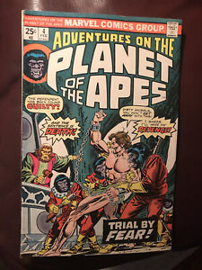 Planet Of The Apes; #4; 1976; Vintage Add; Official Movie Adaptation; In Plastic
