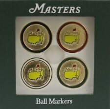 Augusta National Golf Club - Masters Non Dated Ball Markers - set of 4