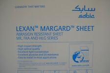 Lexan Sheet Mr 10 Margard Scratch Resistant Polycarbonate 14 Clear 48 X 32