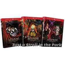 Hellsing Ultimate: Complete Anime OVA Series Sets 1 2 3 Vols 1-10 DVD / BluRay