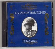 (GL835) Legendary Baritones, Prima Voce - 1995 CD