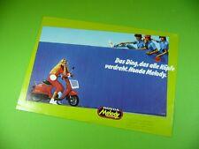 406KA2 Prospekt, dépliant (um 1982): HONDA Melody (Roller, Scooter)