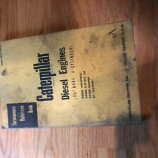Cat Caterpillar Diesel Engine Servicemens Reference Book Manual 4 Cyl 5 34 Mar