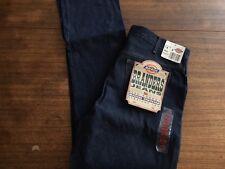 Dickies Rigid Denim Jeans Branders 5 Pocket Straight Leg Levi's Blue