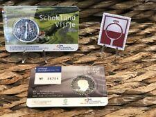 COINCARD - CC - NEDERLAND 2018 - 5 EURO IN BU KWALITEIT - SCHOKLAND VIJFJE