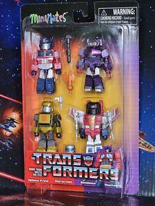 Minimates Transformers Series 1. Box Set of 4 Mates. Nice Brand New Package 2021