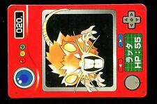 POKEMON JAPANESE BANDAI POCKET MONSTERS POKEDEX N°   20 RATICATE RATTATAC