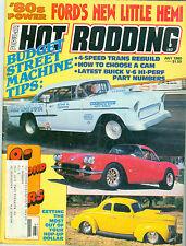 POPULAR HOT RODDING MAGAZINE JULY 1980, FORD'S NEW HEMI,  THE YELLOW SUBMARINE