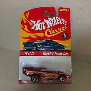Hot Wheels Classics Series 1 Firebird Funny Car #18/25 Limited Edition C19