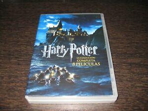 HARRY POTTER COLECCION 8 PELICULAS DVD