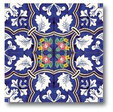 Piastrelle 20x20 Decorate A Mano ceramica Vietri 1 Mq.