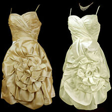 Satin Corset Dry-clean Only Regular Size Dresses for Women