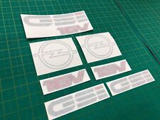 Opel Kadett GSi 16 Valve replacement Decals Stickers