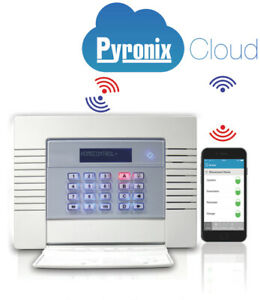 NEW PYRONIX ENFORCER Wireless Alarm panel V11 Digi Wifi on board ENF32UK-WE APP