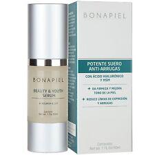Acido Hialuronico Bonapiel Puro de Alta Potencia Reduce Manchas Arrugas de la...