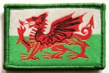 Sew On & Velcro Embroidered Patch Badge (Forces Style) Union Flag Jack Wales
