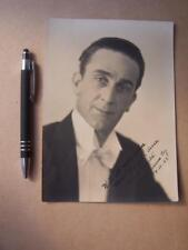 Reginald Moore  organist     Autograph (ORA1)