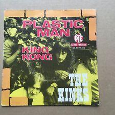 THE KINKS plastic man - French SP 45t BIEM (7')  BEAT POP ROCK