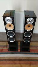 Bowers & Wilkins CM8 speakers, gloss black