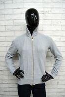 Felpa FREDDY Donna Taglia XL Pullover Maglione Cardigan Sweater Woman Grigio Top