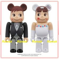 Be@rbrick 2014 Fujiya 100% Milky Peko & Poko Wedding boxset Bearbrick box set 2p