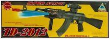 Toy Kids TD2012 Military Assault Machin Gun with Vibration Sound Flashing Light