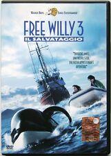 Dvd Free Willy 3 - Il Salvataggio di Sam Pillsbury 1997 Usato raro