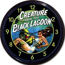"Creature From The Black Lagoon Sci-Fi Horror Movie Cult Retro Wall Clock New 10"""