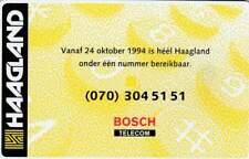 Telefoonkaart / Phonecard Nederland CRE045 ongebruikt - Haagland