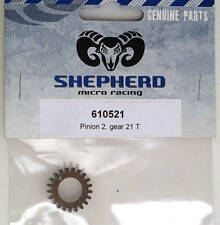 Picco Shepherd Pinion 2nd Gear 21T 610521 modellismo