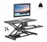 Electric Standing Desk Converter -Stand Up Desk Height Adjustable Desk Rise-X E