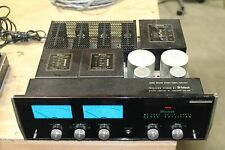Vintage Mcintosh MC-2505 stereo power amplifier WORKING
