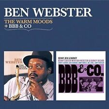 Warm Moods + Bbb & Co (2LPs on one CD), Ben Webster CD   8436542015516   New