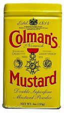 Colmans Mustard Powder - Double Superfine - 113g / 4oz Tin