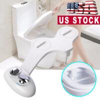Non Electric Toilet Bidet Wash Seat Spray Bathroom Sanitation Single Nozzle New