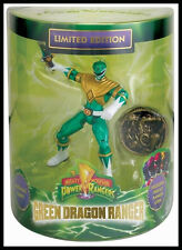 SDCC 2013 BANDAI EXCLUSIVE POWER RANGERS GREEN DRAGON RANGER & COIN ONLY 500 #