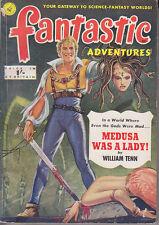 C1 FANTASTIC ADVENTURES 1951 SF Pulp TILLOTSON Finlay William TENN