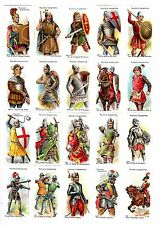 CIGARETTE CARDS. John Player Tobacco. ARMS & ARMOUR. (Complete Set 50). (1909).