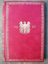 1927  Rangliste des Deutschen Reichsheeres - 100% original